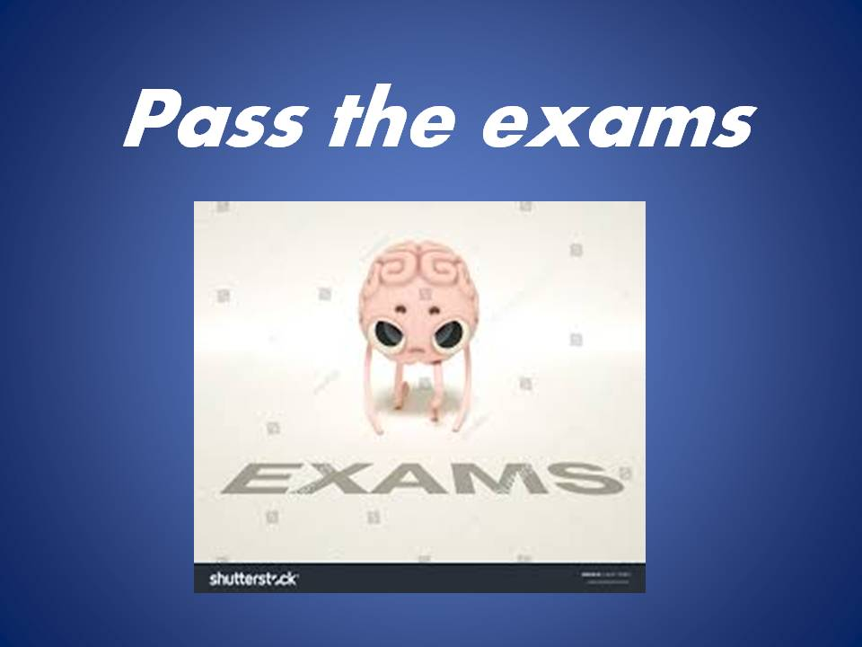 Kako položiti ispit